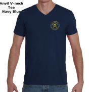 Anvil V-neck Tee