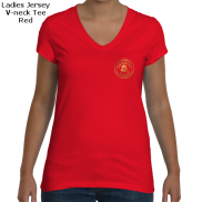 Bella Ladies V-neck Tee