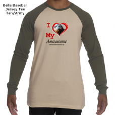 Bella/Canvas Baseball Jersey Tee